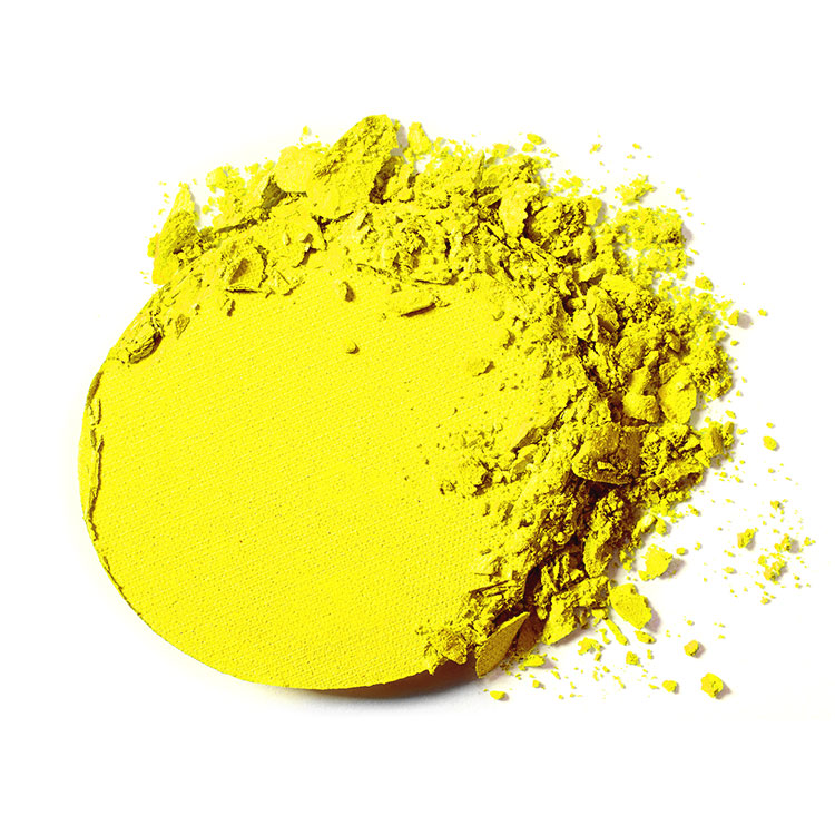 """Yellow"" Bright Color Eyeshadow"