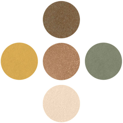 """Earth"" 5 Set Mineral Eyeshadow"